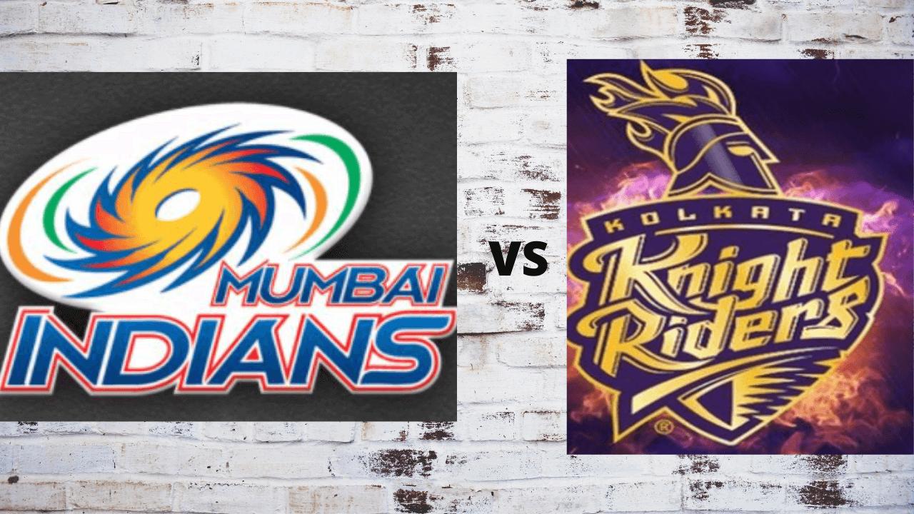 MI vs KKR head to head in IPL history