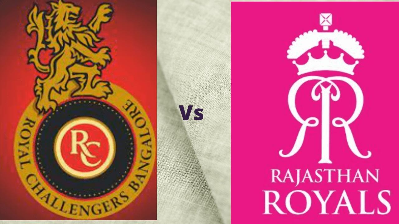 RCB vs RR Head to Head