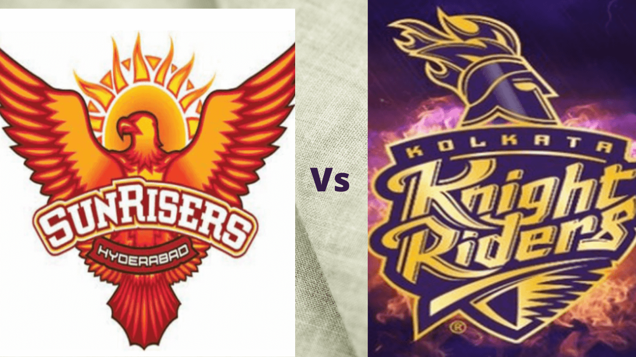 SRH vs KKR Head to Head