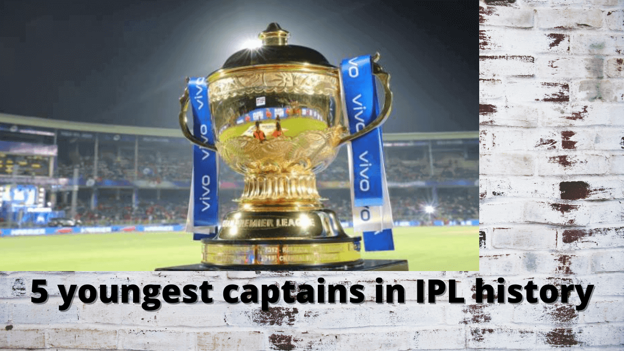 5 youngest captains in IPL history