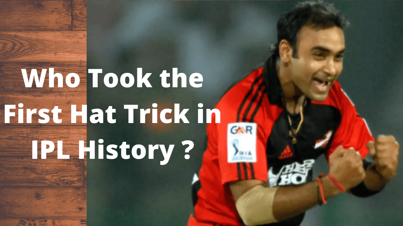 Who Took the First Hat Trick in IPL History